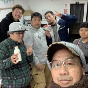 高田屋さんからの釣り人だらけの新年会