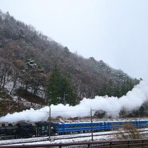 雪の日~東武鬼怒川線