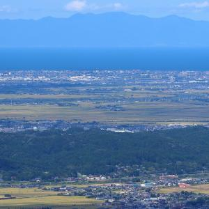 佐渡島を遠くに望んで~磐越西線
