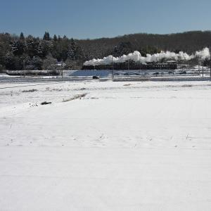 雪景色~真岡鐡道