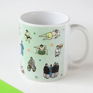 お相撲マグカップ