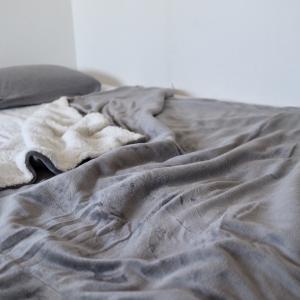 寝具の秋準備。気持ちよすぎる毛布が取り合いだし起きれないし・・・