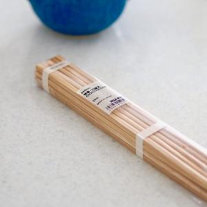 無印の竹箸は繊細ですね・・・食洗機OKの箸に戻りました