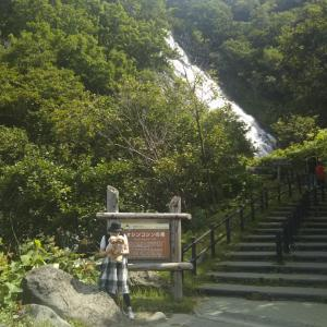 北海道へ その⑤ 知床半島 オシンコシンの滝・知床峠