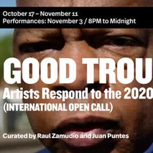 グループ展「GOOD TROUBLE」WhiteBox(ニューヨーク) 2020/10/17-11/11