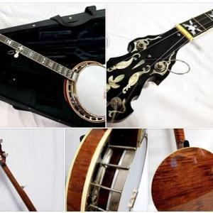 趣味のBanjoを1本楽器庫から取り出してコンディションチェック(1)