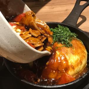 中目黒で鉄板串と絶品フワフワお好み焼き!! トマト豚ためす価値あり~♪