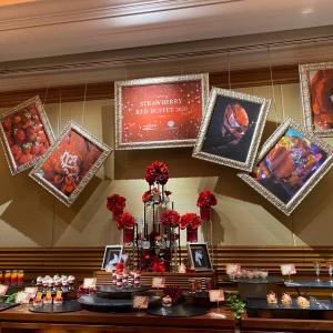 strawberry red buffet2020 @ラ・スイートホテル神戸