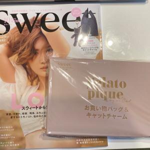 雑誌付録「Sweet」10月号 ジェラートピケエコバッグ