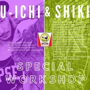 年末特別レッスン! 12/30 YU-ICHI&SHIKI SPECIAL WORKSHOP