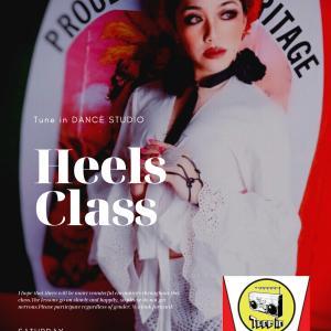 【土曜】Heels Class~ヒールダンス | Tune in DANCE STUDIO