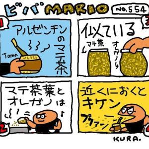 12月8日「ビバMARIO.554/マテ茶」