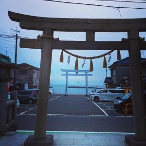 横須賀 鴨居八幡神社。