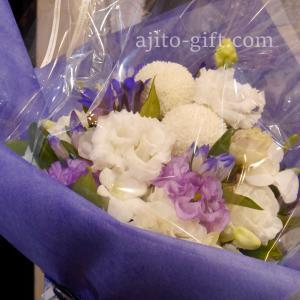 持ち込みラッピング事例 仏壇にお供えする花