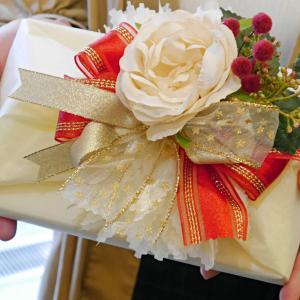 持ち込みラッピング事例 サプライズで贈る結婚式DVD
