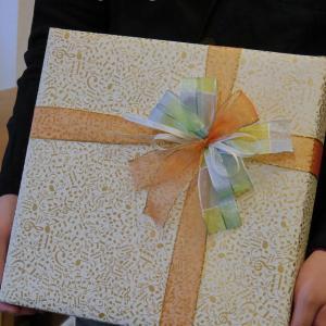 持ち込みラッピング事例 誕生日プレゼントのリングフィットアドベンチャー