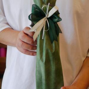 持ち込みラッピング事例 誕生日プレゼントの折りたたみ傘