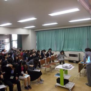 越谷市立弥栄小学校の学校保健委員会での姿勢講演でした