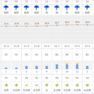 天気が気になるところですが…いよいよ明日が最終日!