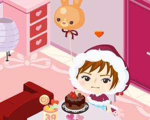 チョコレートケーキ(*^。^*)