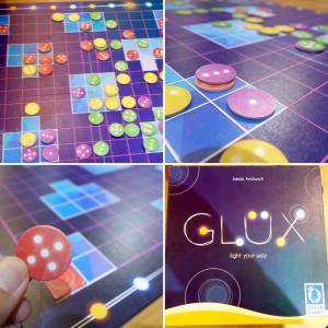 ボードゲーム『グリュックス(GLUX)』リプレイ!