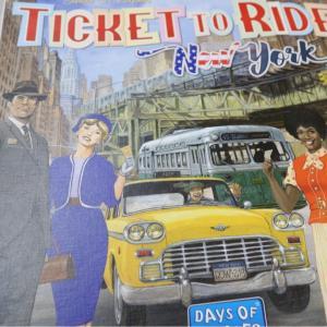 『チケット・トゥ・ライド:ニューヨーク』ほぼ写真だけリプレイ