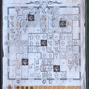 『Cartographers: A Roll Player Tale(カートグラファーズ)』リプレイ!
