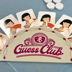 ボードゲーム『ゲスクラブ(Guess Club)』リプレイ! 書いた言葉を他の人と一致させよう!