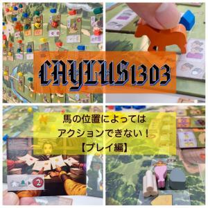 CAYLUS1303(ケイラス1303) 【プレイ編】