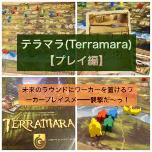 テラマラ(Terramara)【プレイ編】未来に駒置けるワカプレ!