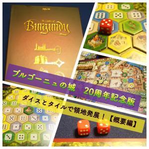 『ブルゴーニュの城 20周年記念版』リプレイ!【概要編】