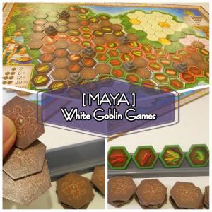 『MAYA』レビュー!マヤ文明繁栄のタイル配置ボードゲーム