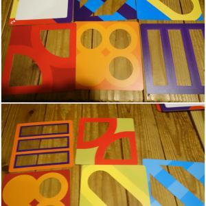 レイヤーズ(Layers) リプレイ! レイヤーを重ねて図形を作る!