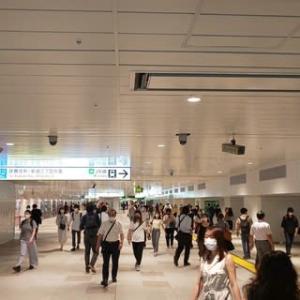 新宿駅の東西自由通路が7月19日に開通
