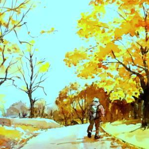 初秋の風景