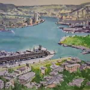 長崎港俯瞰
