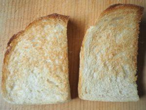 パンの勉強①(リーンな食パンで小麦粉の違いを学ぶ)