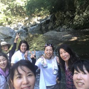 ゆるゆる登山部 9月 摂津峡渓谷コース