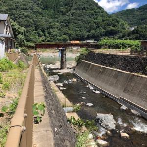 球磨川のお盆