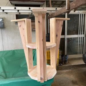 車椅子で使いやすい様にテーブルの改修