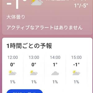 寒い10月