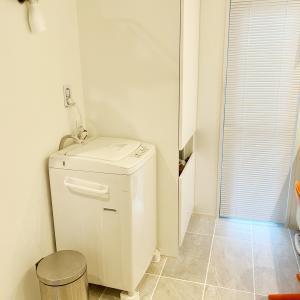 お洒落洗濯機に買い換えてみたのですが
