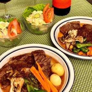【食卓】食材貰いすぎな我が家の夕食