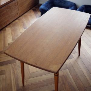 古い北欧テーブルをメンテナンスしてみた