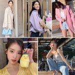 韓国旅行|【ジェニーのコーラルピンク-アイリーンのブルー】2020夏のトレンドカラー5♪