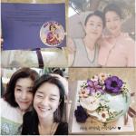 韓国旅行 フィリピン【ソ・イェジ】のファン→【キム·ミギョン】英語の手紙+花ケーキの贈り物♪