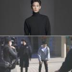 韓国旅行|【キム·スヒョン】CM撮影現場に到着した姿を撮影、礼儀正しいイケメン♪(追記あり)