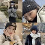 韓国旅行 スターの冬の最愛アイテム【ビーニー】のおすすめスタイリング♪