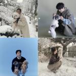 韓国旅行 寒い朝には…atatakai犬と一緒に和みましょ!スターwithDOG♪