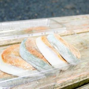 世界遺産 高野山 みろく石本舗かさ國の焼餅と、はちよう特製笹の葉ずし